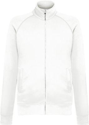 Lightweight Sweat-Jacket, weiss, M