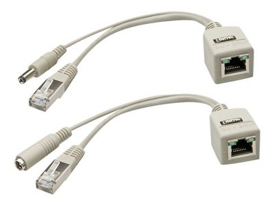 Lindy Power over Ethernet (PoE)-Kabel-Kit - 20 cm
