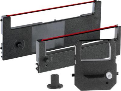 lintcassette voor tijdregistratieapparaat, zwart/rood