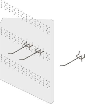 Lochplattenhaken LPH100