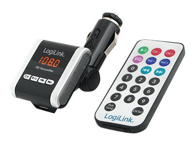 LogiLink FM Transmitter with MP3 Player - FM-Transmitter
