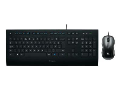 Logitech Corded K280e - Tastatur - Schweizer