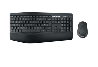 Logitech Kabelloses Tastatur-Maus-Set MK850 PERFORMANCE Bluetooth, 2.4 GHz