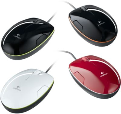 Logitech Laser Mouse M150, Grape Flash Jaffa, zwart/groen