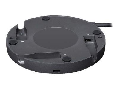 Logitech Rally Mic Pod Hub - Mikrofon-Schnittstellenadapter