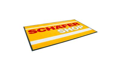 Logo mat Classic Floormat, 850 x 1500 mm, antraciet, antraciet