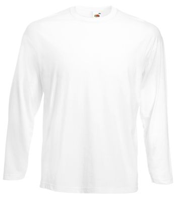 Long Sleeve T-Shirt, weiss, L