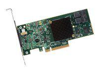 LSI MegaRAID SAS 9341-8i - Speichercontroller (RAID) - SATA 6Gb/s / SAS 12Gb/s - PCIe 3.0 x8