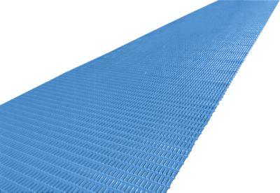 Luftpolstermatte, Zuschnitt, 600 mm breit, blau