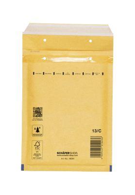 Luftpolstertasche, goldgelb, 100 St., 150x215 mm/170x225 mm