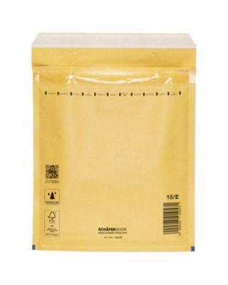 Luftpolstertasche, goldgelb, 100 St., 215x265 mm (C5), 240x275 mm