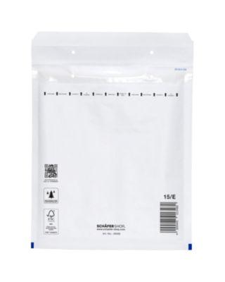 Luftpolstertasche, weiß, 100 St., 215x265 mm (C5), 240x275 mm