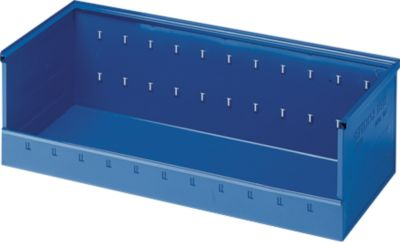 Magazijnbak, d 385 x h 300 mm, blauw