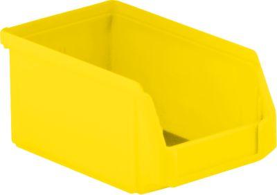 Magazijnbak LF 211, kunststof, 0,9 liter, geel