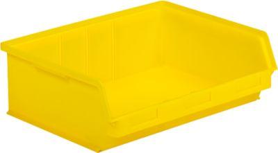 Magazijnbak met zichtopening LF 351 ZW geel