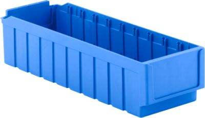 Magazijnbak RK 521, 10 vakken, blauw