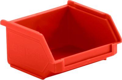Magazijnbakken met zichtopening LF 110 rood