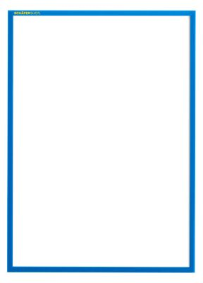 Magneetframe SSI Standard, DIN A3 staand, blauw, 5 st