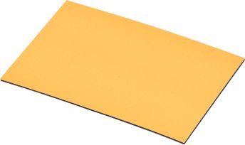 Magnet-Lagerschilder, gelb, 25 x 75 mm