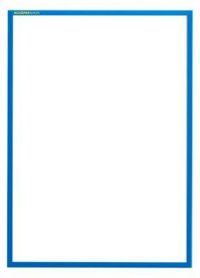 Magnet-Rahmen SSI Standard, A3 Hochformat, blau, 5 Stück