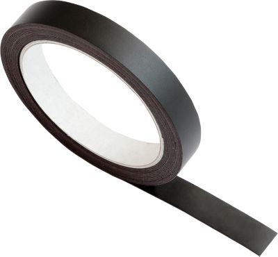 Magnetband, B 15 mm, 5 m/Rolle, schwarz