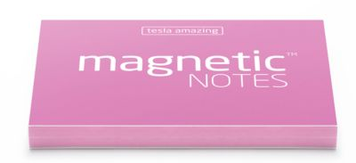Magnetic Notes S 70x50mm pink 100 Bl.