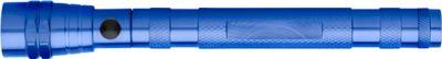 Magnetische Teleskop-LED-Lampe Maxi, inkl. einfarbigem Werbedruck und allen Grundkosten kobaltblau