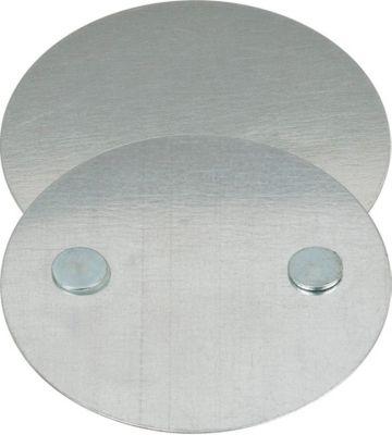 Magnetmontageplatte für Rauchmelder Brennenstuhl BR 1000, selbstklebend