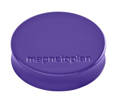 magnetoplan® Ergo magneten MEDIUM, Ø 30 x 8 mm, pak van 10 stuks, paars