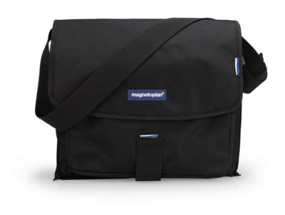 magnetoplan® Moderatorentasche, inkl. 1300-tlg. Kit, Polyester, schwarz, mit Tragegriff