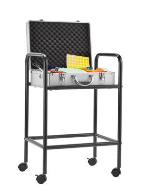Magnetoplan Trolley für Moderatorenkoffer, Stahl, 4 Laufrollen, schwarz pulverbeschichtet