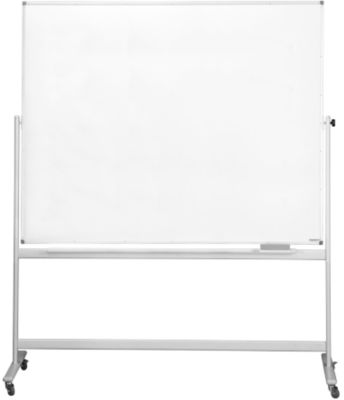 magnetoplan® Whiteboard, mobil, emailliert, H 1200 x B 1800 mm
