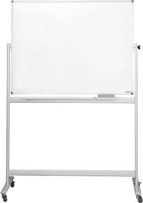magnetoplan® Whiteboard, mobil, lackiert, H 900 x B 1200 mm
