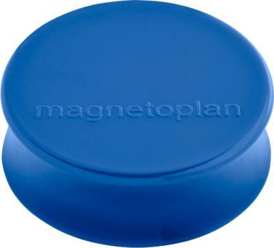 Magnetplan magneten Ø34x12,5mm,blauw10st