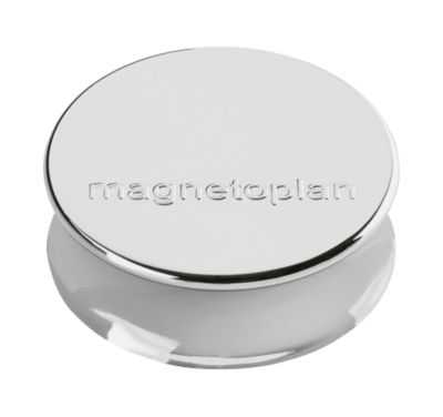 Magnetplan magneten Ø34x12,5mm,zil.,10st