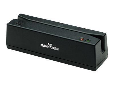 Manhattan Magnetic Strip Card Reader - Magnetkartenleser - USB