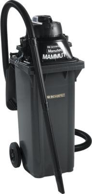 Manutec®-Mammut Nass-/Trockensauger, inkl. Großmülltonne, 120 l, anthrazit