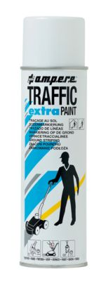 Markierungsfarbe Traffic® Extra, für Bodenmarkierungsgeräte, wetterfest, Reichweite 50 m, 500 ml, weiß