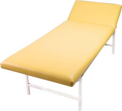 Massage- en onderzoeksbank, 2000 x 700 x 650 mm, oker, oker