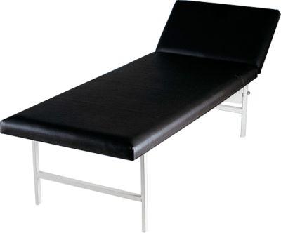 Massage- und Untersuchungsliege, 2000 x 700 x 650 mm, schwarz