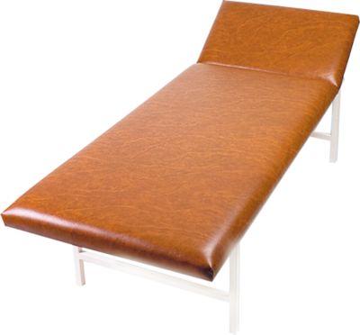 Massagebank en onderzoeksbank, 2000 x 700 x 650 mm, bruin