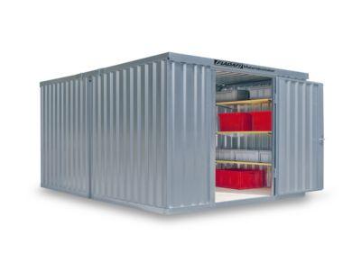 Materiaalcontainer Mod. 1340, verzinkt, ongem., zonder vloer