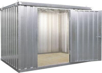 Materiaalcontainer mod. 1420, verzinkt, gemonteerd