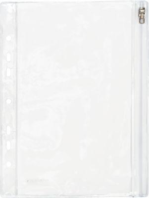 Materiaalhoezen PVC met euro-perforatie, Din A5