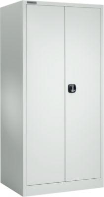 Materialschrank MSI 2609 S, Belastb. 100 kg je Boden, H 1935 mm, lichtgrau