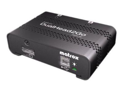 Matrox Graphics eXpansion Module DualHead2Go - Digital SE - Videokonverter