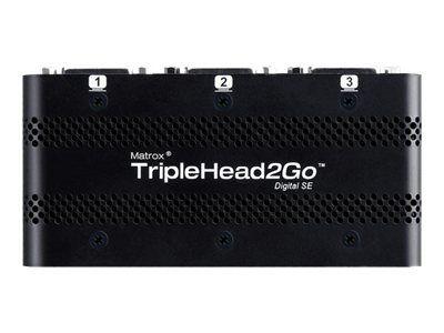 Matrox Graphics eXpansion Module TripleHead2Go - Digital SE - Videokonverter