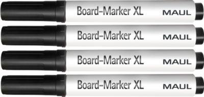 MAUL  Bordstiften XL, zwart, 4 stuks