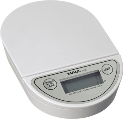 MAUL brievenweegschaal MAULoval,2 kg