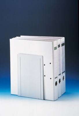 MAUL Buchstütze für Ordner, 240 x 140 x 120 mm, grau